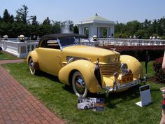 1937 Cord 812 Supercharged Phaeton owned by Tom Mix.  Incredibly rich history with the car.  Tom Mix was killed in this car in 1940.  It was restored in 1942.