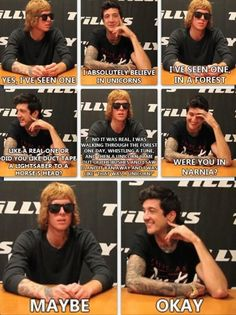 Yes these are the men that I look up to and I will never not love or respect them(: