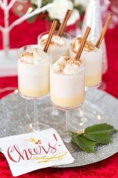 Christmas Cocktail: Boozy Eggnog Floats
