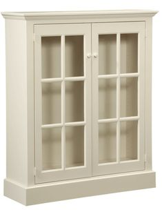 "Cape Cod Bookcase is handmade by the Amish.  Your piece will be built with Premium Grade Eastern White Pine wood.  You will see some deformities and knots that come naturally with eastern pine.  Measures: 46"" W x 55"" H x 16"" D Shown in Country White"