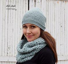 Hat And Neck Warmer Crochet Pattern