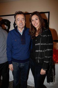 Michel Denisot et Doria Tillier au Five Seas Hotel
