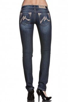Miss Me, Sequin Detail Skinny Jeans (favorite brand)