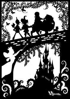 Wizard Of Oz Silhouette Wizard of oz silhouettes