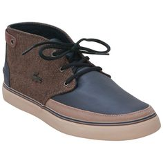 Buy Dark Blue Lacoste Men's Clavel 13 Canvas Sneaker shoes...I like these!