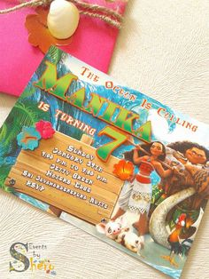 Moana Birthday Party Ideas | Photo 2 of 57