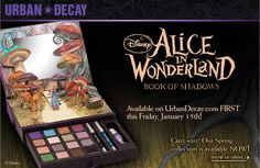 MOST WANTED!! URBAN DECAY ALICE IN WONDERLAND BOOK OF SHADOWS ~ CANNOT SPEND MUCH (IF ANY) MONEY, BUT HAVE TONS TO SWAP! I HAVE 2 SWAP BOARDS ~ ONE HAS MAKEUP/COSMETICS AND THE OTHER HAS BRAND NAME JEWELRY & ACCESSORIES.. CHECK THEM OUT! IF YOU LOVE PRETTY STUFF, YOU WILL LOVE MY BOARDS!