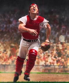 Johnny Bench is a former professional baseball catcher who played in the Major Leagues for the Cincinnati Reds from 1967 to 1983 and is a member of the National Baseball Hall of Fame. Bench, a 14-time All-Star selection and a two-time National League Most Valuable Player, was a key member of The Big Red Machine, which won six division titles, four National League pennants, and two World Series championships. ESPN has called him the greatest catcher in baseball history.