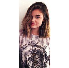 Lucy Hale, short hair!