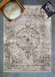 Cornelia 9212 Persian Design Mink Digital Printed Area Rug - 3'2\x9'8\ - 100x300