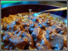 Envy My Cooking: Crock pot beef stroganoff
