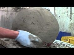 How I make Hollow Concrete Garden Spheres Balls with Quikwall - YouTube