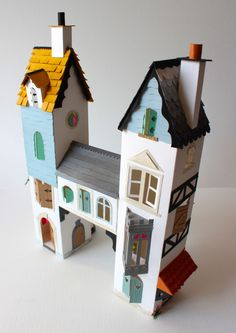 Amazing paper craft from Helen Musselwhite - H is for House