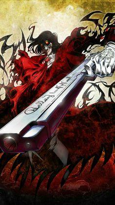 Hellsing Manga - very dark and awesome! Hellsing Alucard, Hellsing Cosplay, Hellsing Ultimate Anime, Manga Anime, Anime Art, Seras Victoria, Corpse Party, Popular Anime, Nerd
