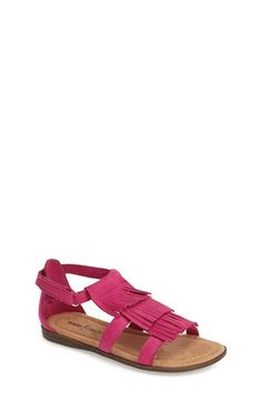 Minnetonka 'Maya' Sandal (Toddler, Little Kid & Big Kid) available at #Nordstrom