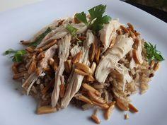 Lebanese Chicken & Brown Rice