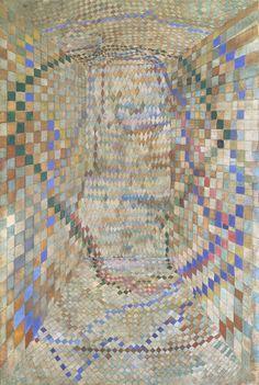 Maria Helena Vieira da Silva, The Tiled Room, 1935 Abstract Drawings, Abstract Art, Monet, Art Informel, Art Abstrait, Art For Art Sake, Textile Prints, Contemporary Artists, Female Art