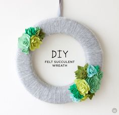 New contributor –Lindsay B. is sharing a wreath tutorial filled with lovely succulents. (A blog from the Creative Studios at Hallmark.)