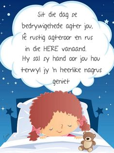 Goeie Nag, Afrikaans, Good Night, Qoutes, Messages, Nighty Night, Quotations, Quotes