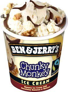 ben and gerrys chunky monkey spoon | Hey Banane ! - Ben & Jerry's