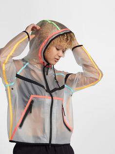Raincoats For Women Shops Key: 1798321047 Nike News, Girl Outfits, Cute Outfits, Fashion Outfits, Sport Fashion, Womens Fashion, Rain Jacket Women, Outfit Trends, Raincoats For Women