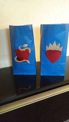 Bolsas para dulces de desendientes/ party bags favors desendents