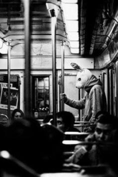 * In a Station of the Metro * The apparition of these faces in the crowd; Rabbit on a tall, steel pole.