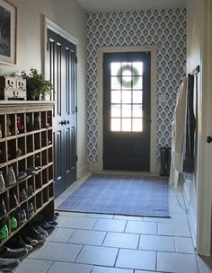 Love this mudroom ma