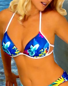 Blue Hawaiian, Hawaiian Print, Bikini Swimwear, Swimsuits, Bikinis, Swim Bottoms, Bikini Bottoms, Classic Style, Tankini