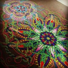 Sand Painting Art By Joe Mangrum from New York