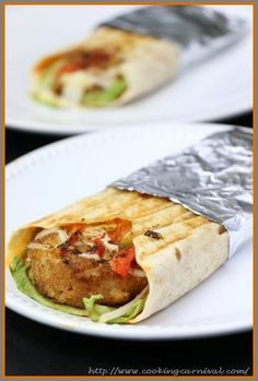 Paneer And Potato Tortilla wrap is delicious and healthy alternative to standard sandwiches. They are also neat and compact, making them perfect to pack for a lunch in the office, picnic, school lunch box or a healthy lunch on the go. These are very tasty and easy. You can slice them smaller and they make wonderful party appetizers.