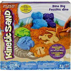Spin Master Kinetic Sand Dino Ausgrabungsset