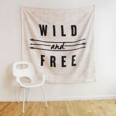 Wild and Free Tapestry - Tapestries - Wall - Decor