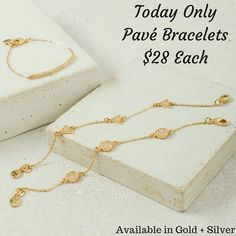 Our Curved bar, circle, + triangle pavé bracelets, necklaces, + earrings are all 25% Off today + are available in gold + silver. I can't decide which one I like best, how bout you?  www.chloeandisabel.com/boutique/thecelticpearl   #Anniversay #Sale #Day2 #ModernMetals #Modern #Metals #Save #Discount #Promo #deal #steal #Limited #lowprices #jewelry #fashion #accessories #style #shopping #shop #trendy #trending #trend #trends #chloeandisabel #thecelticpearl #silver #gold