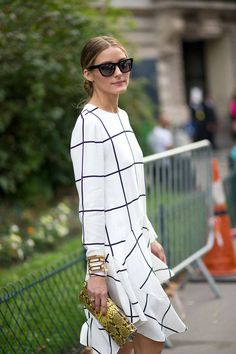 Olivia Palermo perfects street style, along these other featured women at #PFW, here: