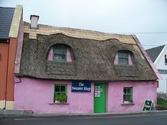 The Sweater Shop in Doolin, Co. Clare, Ireland: We shopped here and found great prices for 2 Aran  sweaters.