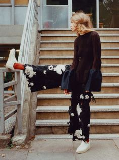 "bienenkiste: ""Melina Gesto photographed by Clare Shilland """