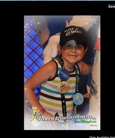 My sweet, cancer fighting, boy Drake! Make-a-wish to Walt Disney World 2014