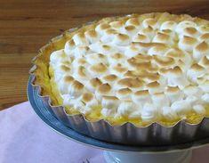 Lemon pie con la receta de masa sablée que me enseñaron en el IAG - Blogs lanacion.com
