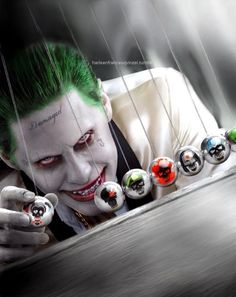 Jared Leto as The Joker in Suicide Squad Der Joker, Joker Art, Gotham Joker, Wallpaper Animé, Madly In Love, Joker And Harley Quinn, Gotham City, Marvel Dc Comics, Comic Character