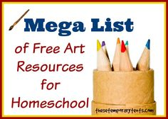 Mega List of Free Online Art Resources