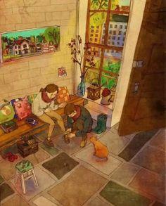 """O amor está nas pequenas coisas... """"Cuidar do outro"""""""