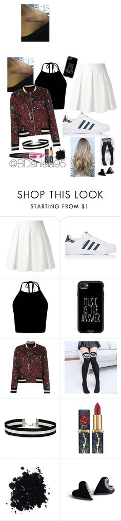 """""""Untitled #221"""" by daniela95140 on Polyvore featuring Boutique Moschino, adidas, Casetify, Étoile Isabel Marant, Little Flower, Miss Selfridge and L'Oréal Paris"""