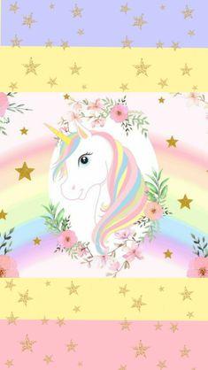 🌈🦄🌈 Iphone Wallpaper Unicorn, Unicornios Wallpaper, Wallpaper Iphone Disney, Galaxy Wallpaper, Cool Backgrounds Wallpapers, Unicorn Backgrounds, Unicorn Birthday Parties, Unicorn Party, Iphone Video