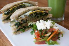 Green vege club sandwich #omnomnom #food #travel #vege