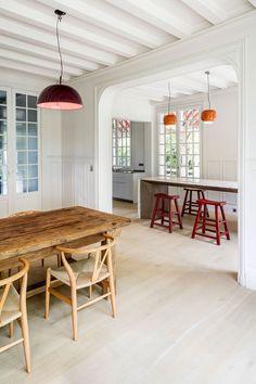 Dit huis in Parijs leert ons een minimalistische stijl met klassieke elementen te mixen - Roomed