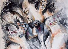 """Cuando hablamos de amar parece que """"más"""" siempre es sinónimo de """"mejor"""", y creerse esta mentira es tomarse una píldora venenosa disfrazada de caramelo. Si analizamos los momentos vividos al lado de la persona que queremos y el sufrimiento gana por goleada es que algo no va bien, nos hemos convertido en víctimas de eso …"""