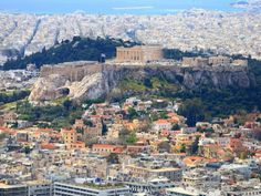 ATHENS, GREECE: The recovering economy has many returning to visit Athens' ancient ruins. Top Travel Destinations, Places To Travel, Places To Visit, Ancient Ruins, Travel Guides, Kayaking, Adventure Travel, Trip Advisor, Paris Skyline