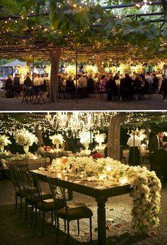 Floral table runner. A Real Momental Wedding  Melissa and Matt at Beaulieu Garden in Napa Valley