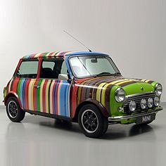 El señor de las rayas - Mini Cooper Paul Smith